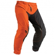 Thor Prime Pro Jet Black Red Orange Pants