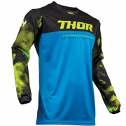 Thor Pulse Air Acid Blue Black Jersey