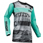 Thor Pulse Jaws Mint Black Jersey