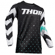 Thor Pulse Stunner Black White Jersey