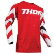 Thor Pulse Stunner Red White Jersey