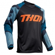 Thor Sector Camo Blue Jersey