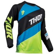 Thor Sector Shear Black Acid Jersey