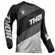 Thor Sector Shear Black Grey Jersey