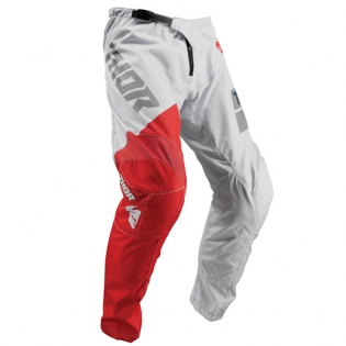Thor Sector Shear Light Grey Red Pants