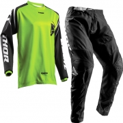 Thor Kids Sector Zones Lime Kit Combo
