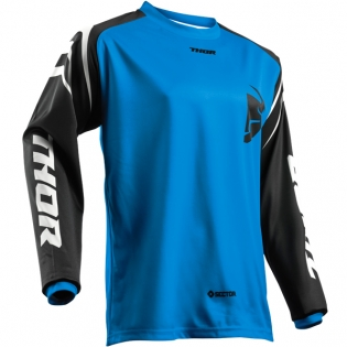 Thor Kids Sector Zones Blue Jersey