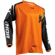 Thor Kids Sector Zones Orange Jersey