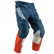 Thor Kids Pulse Air Acid Red Orange Slate Pants