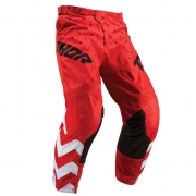 Thor Kids Pulse Stunner Red White Pants