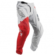 Thor Kids Sector Shear Light Grey Red Pants