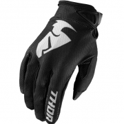Thor Kids Sector Zones Black Gloves