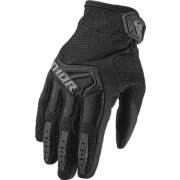 Thor Kids Spectrum Black Gloves