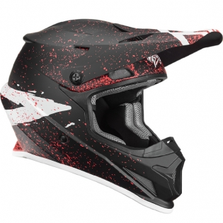 Thor Sector Hype Black Coral Helmet