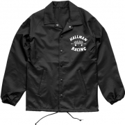 Thor Hallman Finish Line Windbreaker Black Jacket