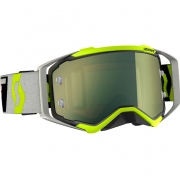 Scott Prospect Black Grey Yellow Chrome Goggles