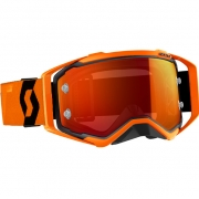 Scott Prospect Black Orange Orange Chrome Goggles