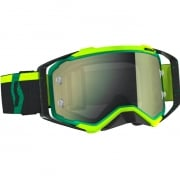 Scott Prospect Green Black Yellow Chrome Goggles