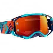 Scott Prospect Blue Orange Orange Chrome Goggles