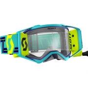 Scott Prospect WFS Blue Teal Clear Goggles
