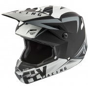 Fly Racing Elite Vigilant Matte Black Grey Helmet