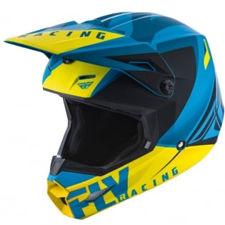 Fly Racing Elite Vigilant Blue Black Helmet