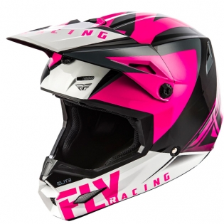 Fly Racing Elite Vigilant Pink Black Helmet