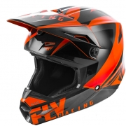 Fly Racing Elite Vigilant Orange Black Helmet