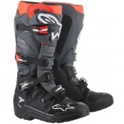 Alpinestars Tech 7 Black Grey Red Fluo Enduro Boots