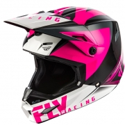 Fly Racing Kids Elite Vigilant Pink Black Helmet