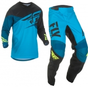 Fly Racing F16 Blue Black Hi Viz Kit Combo