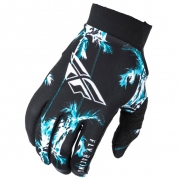 Fly Racing Pro Lite Paradise Teal Black Gloves