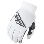 Fly Racing Pro Lite White Gloves