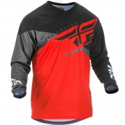 Fly Racing F16 Red Black Grey Jersey