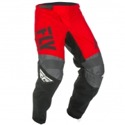 Fly Racing F16 Kids Red Black Grey Pants