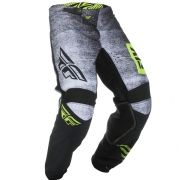 Fly Racing Kinetic Kids Noiz Black Hi Viz Pants