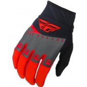 Fly Racing F16 Kids Red Black Grey Gloves