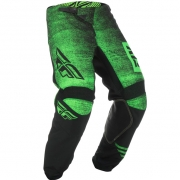 Fly Racing Kinetic Kids Noiz Neon Green Black Pants