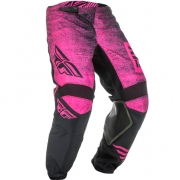 Fly Racing Kinetic Kids Noiz Neon Pink Black Pants