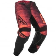 Fly Racing Kinetic Kids Noiz Neon Red Black Pants
