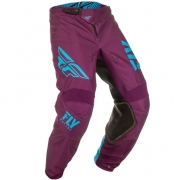 Fly Racing Kinetic Kids Shield Port Blue Pants