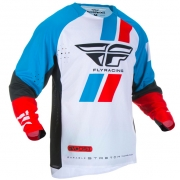 Fly Racing Evolution Red Blue Black Jersey