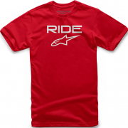 Alpinestars Ride 2.0 Red White T Shirt