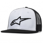Alpinestars Corp Trucker Black White Cap