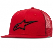 Alpinestars Corp Trucker Red Cap
