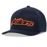 Alpinestars Blaze Flexfit Navy Orange Cap