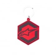 Alpinestars Ignition KeyFob Red Black Keychain