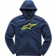 Alpinestars Ageless ll Navy Yellow Hoodie