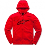 Alpinestars Ageless ll Red Black Hoodie