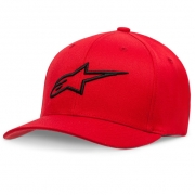 Alpinestars Kids Ageless Curve Red Black Cap